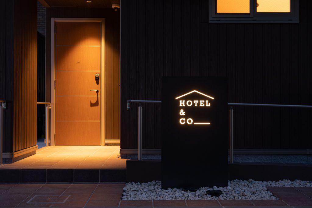 HOTEL&CO外観